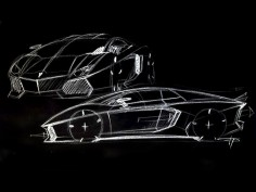 Lamborghini Aventador: the design