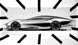 Mercedes-Benz Aria Concept Tape Drawing