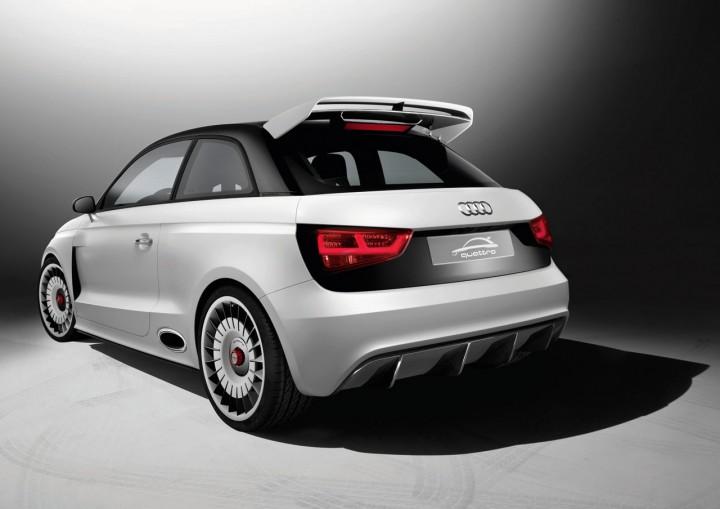 Audi A1 Clubsport Quattro Concept Car Body Design