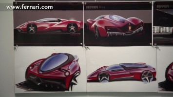 CCS Ferrari Design Sketches