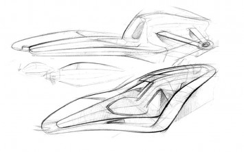 Ferrari World Design Contest Sketches