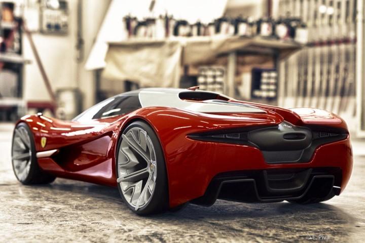 Ferrari Xezri Concept , Car Body Design