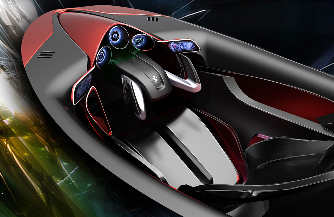 Ferrari Xezri Concept Interior , Car Body Design