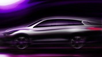 Infiniti JX Concept Preview Sketch