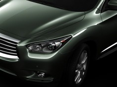Infiniti JX: new images
