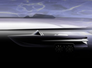 Infiniti QX56-powered boat sketch