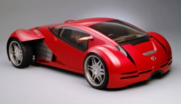 Minority Report Lexus Concept Car by Harald Belker