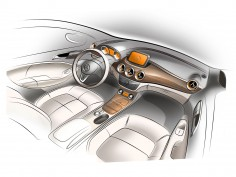 Mercedes-Benz B-Class: interior design