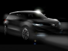 SsangYong Concept XUV 1 preview