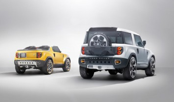 Land Rover DC100 and DC100 Sport Concepts