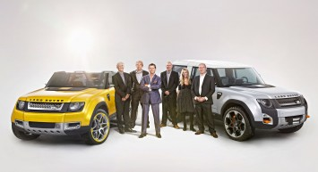 Land Rover DC100 and DC100 Sport Concepts Design Team