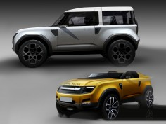Land Rover DC100 and DC100 Sport Concepts: design gallery