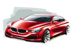 BMW 3 Series: design sketches