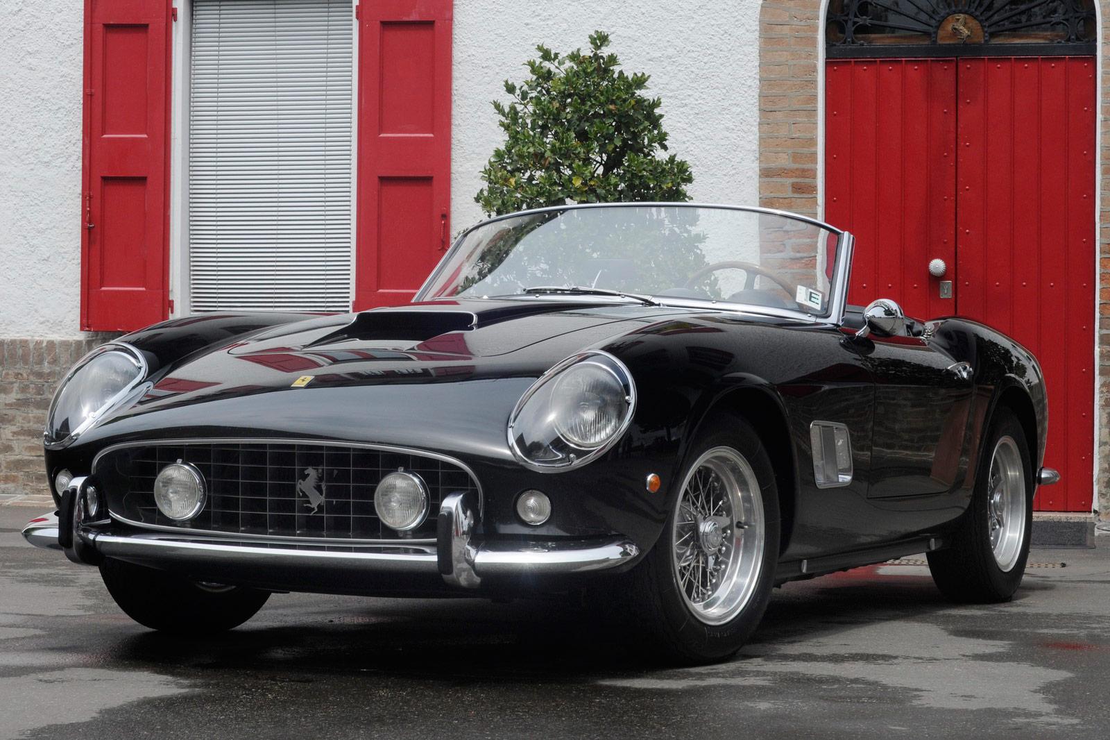 Ferrari 250 Gt California >> 1958 Ferrari 250 Gt California Spyder Car Body Design