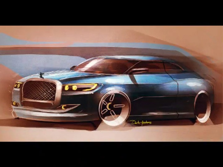 Photoshop car rendering video