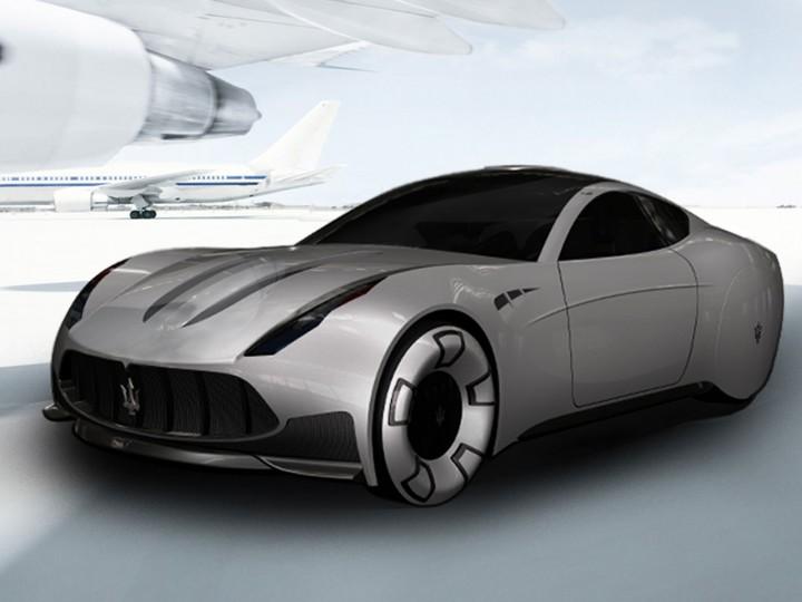 Maserati Granturismo 2020 Concept Car Body Design