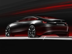 Mazda Takeri Concept: design images