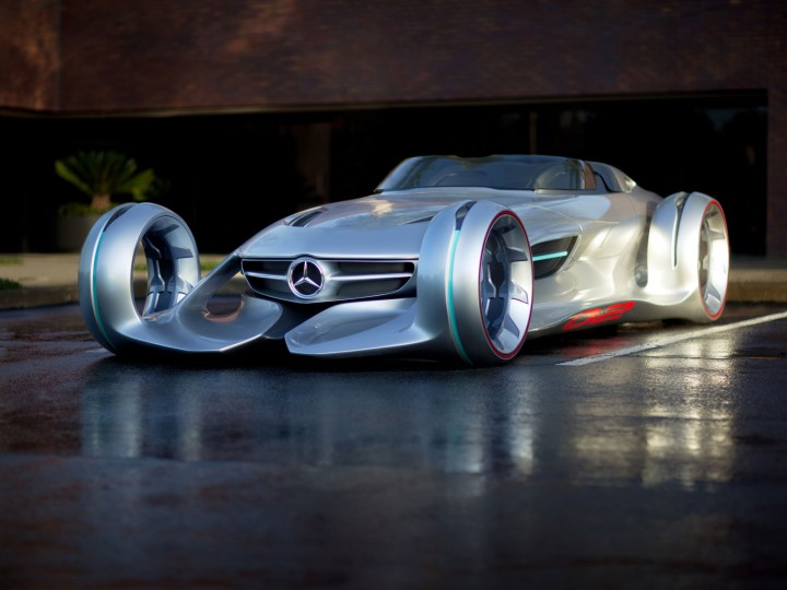 Mercedes Benz Silver Arrow Concept New Images And Videos Car Body