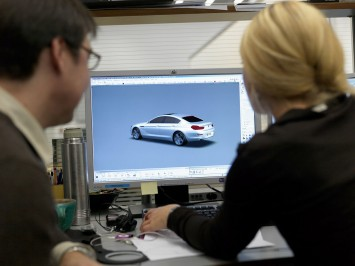 CAS modeling of the BMW 6 Series Gran Coupe