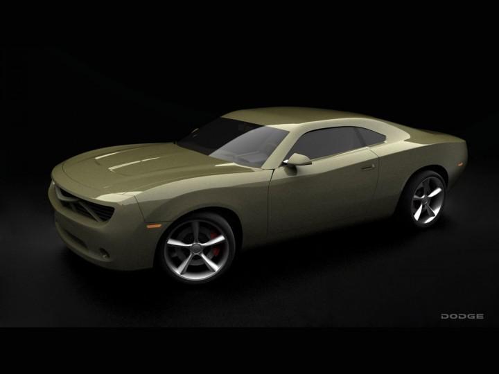 Dodge Charger Concept - Car Body Design