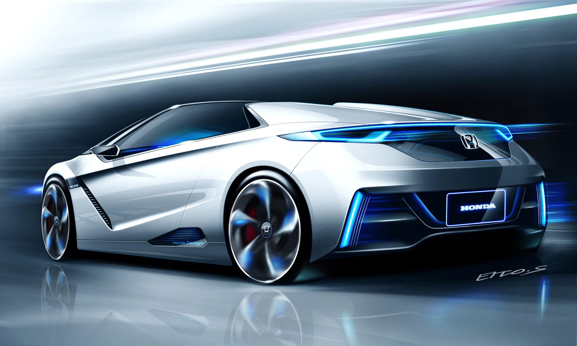 New Honda Motorcycles >> Honda EV-STER Concept Design Sketch - Car Body Design
