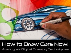 How to Draw Cars Now! DVD set