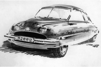 Saab 92 Design Sketch