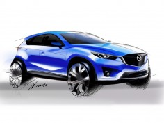 Mazda CX-5: design gallery and video