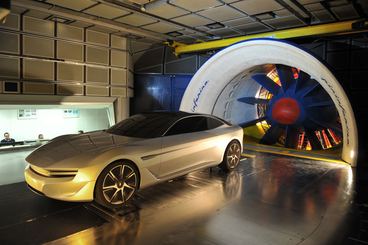pininfarina cambiano concept wind tunnel testing car body design rh carbodydesign com
