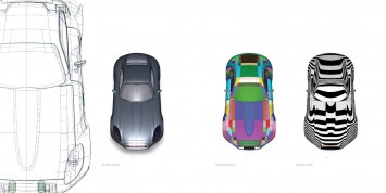 Jaguar E-Type Concept - CAD Model