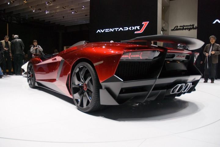 Lamborghini Aventador J Car Body Design