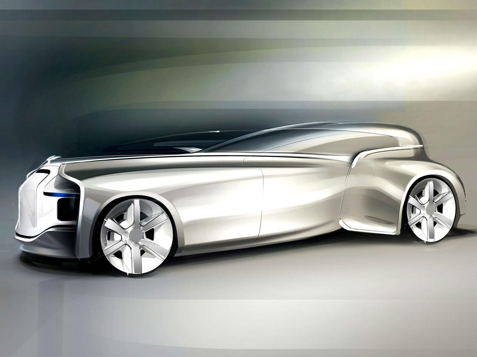Rolls Royce Silver Wraith By Paul Nichols Car Body Design