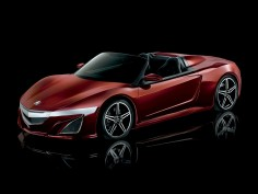 Acura previews NSX-derived Roadster