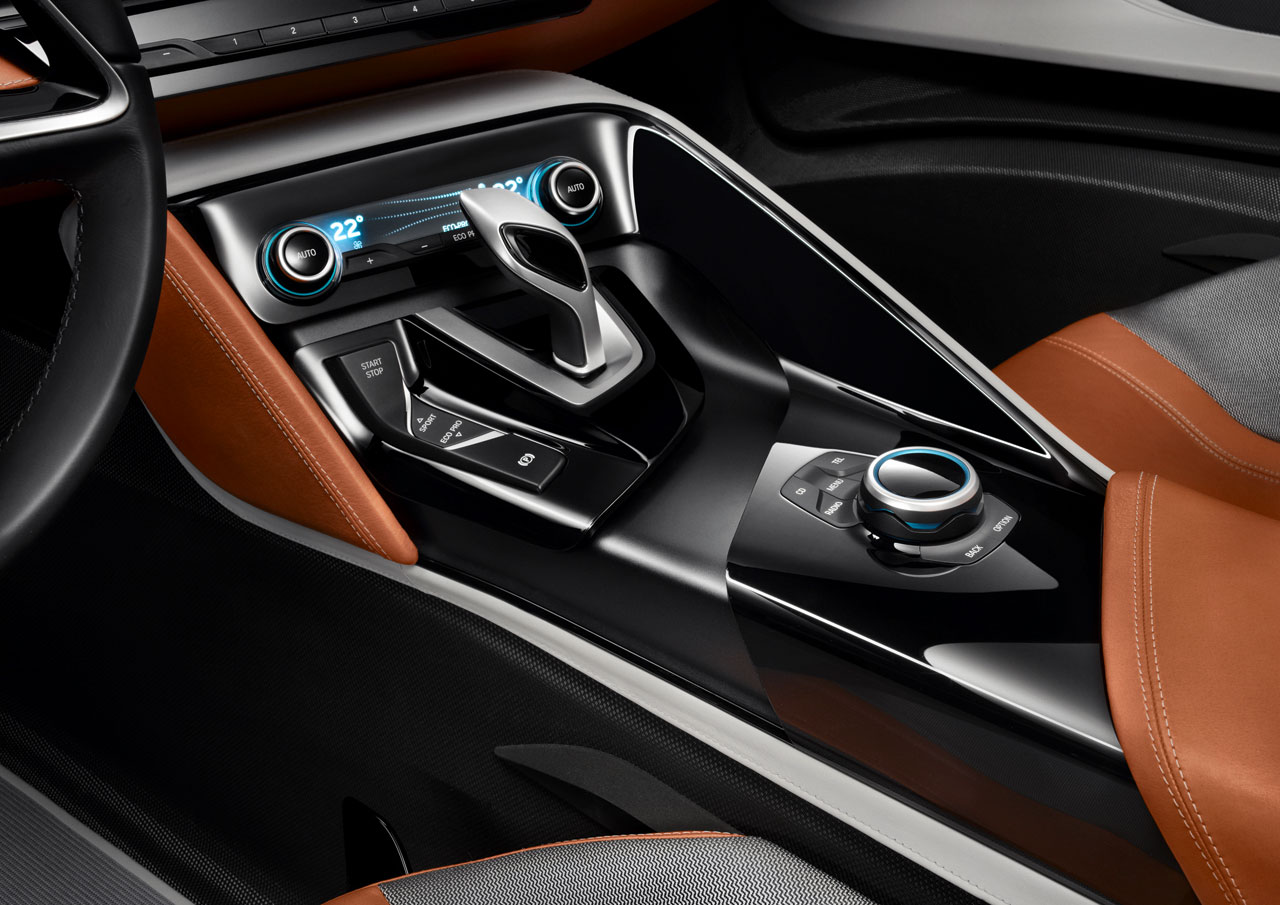 Bmw I8 Concept Spyder Interior Car Body Design