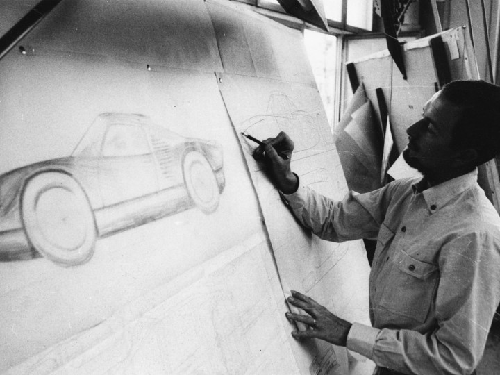 ca583e814689 Porsche 911 designer Ferdinand Porsche dies at 76 - Car Body Design