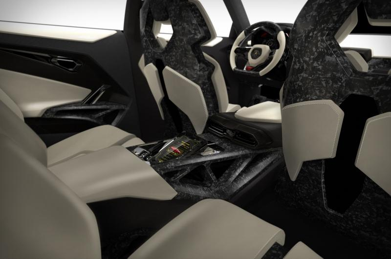 Lamborghini Urus Concept Interior , Car Body Design
