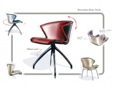 Mercedes-Benz unveils furniture collection