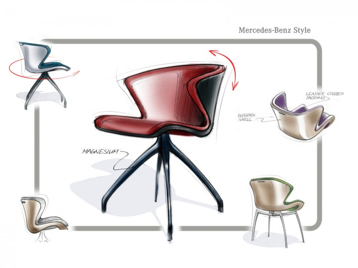 Mercedes-Benz unveils furniture collection - Car Body Design