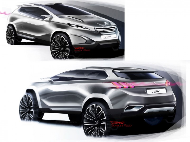 Peugeot Urban Crossover Concept Design Story
