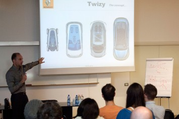 Renault Twizy presentation at SPD - Patrick Lecharpy