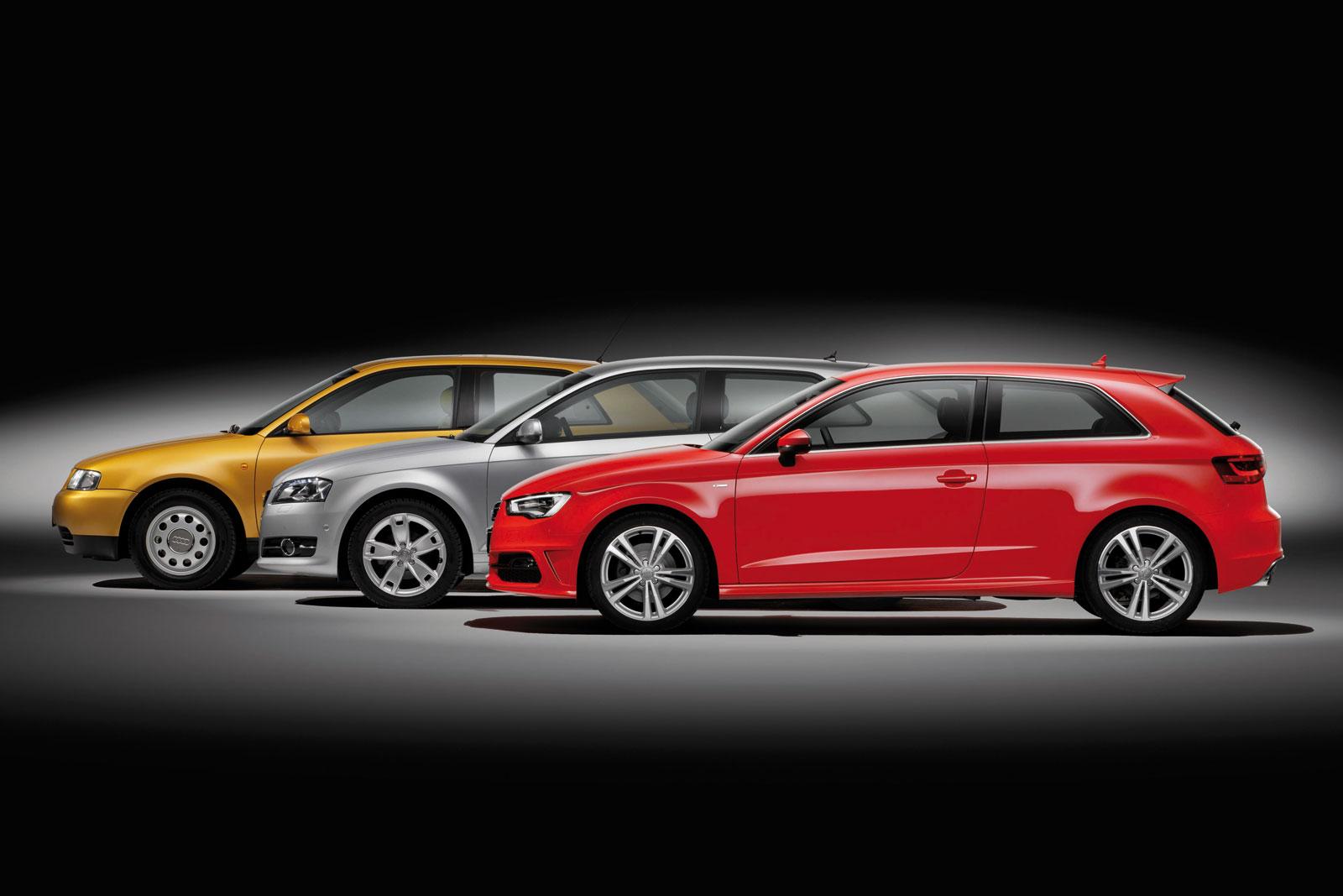 Audi A3 Design Evolution Car Body Design