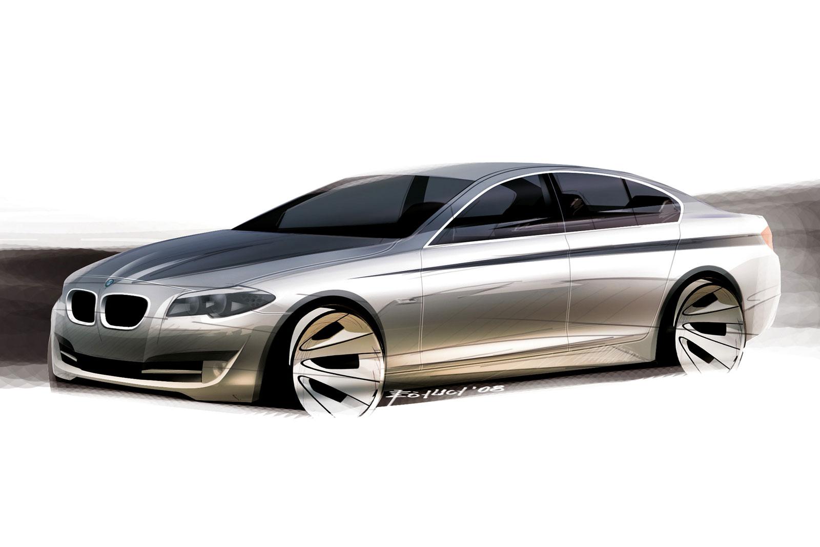 Bmw 5 Series Design Sketch Car Body Design