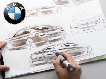 BMW 6 Series Coupe Design Sketching