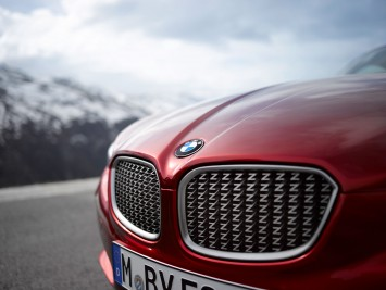 BMW Zagato Coupe - Front grille detail