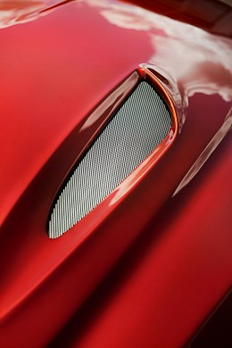 BMW Zagato Coupe - Hood detail