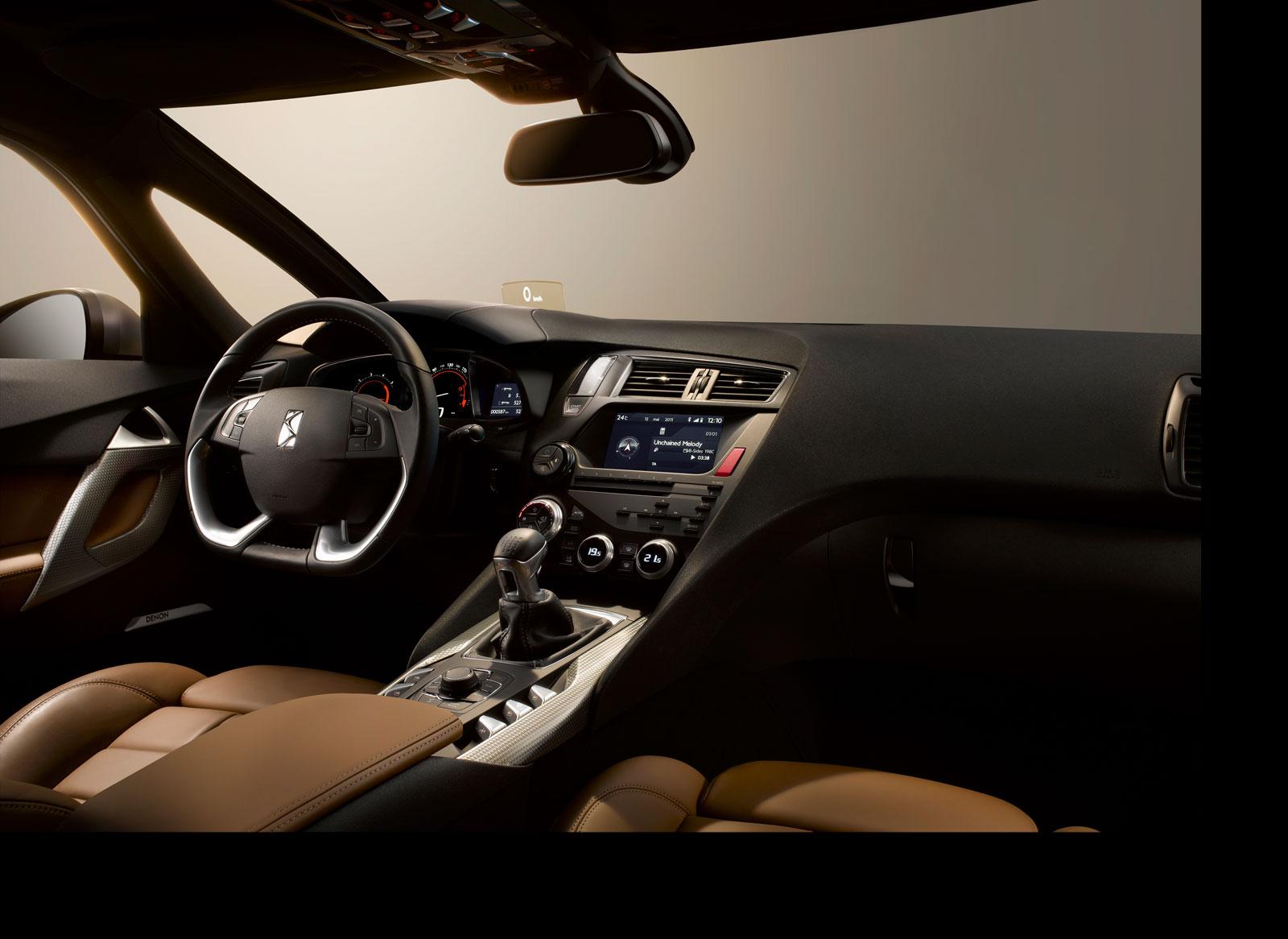 Citroen DS5 - Interior - Car Body Design