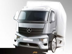 Mercedes-Benz previews Antos truck