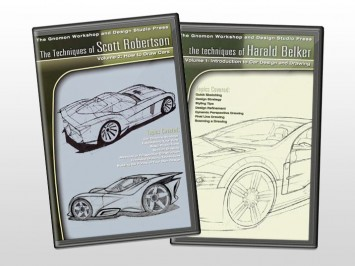 Car Drawing DVDs by The Gnomon Workshop