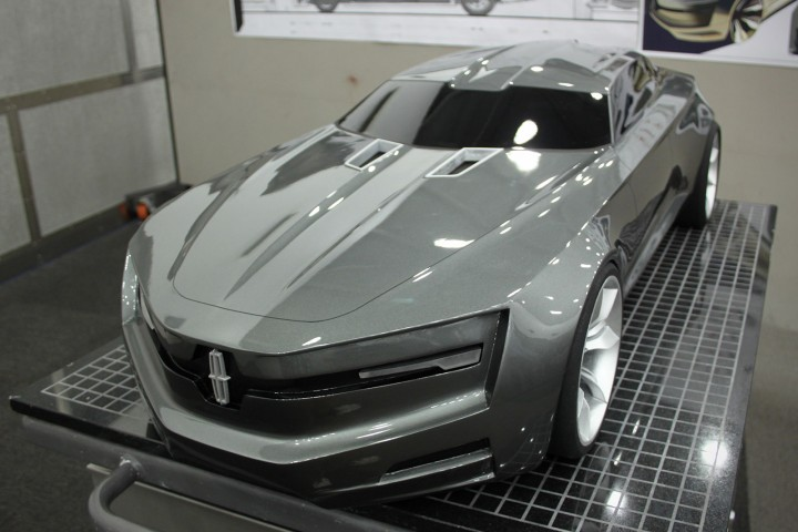 Lincoln Mkf Concept Car Body Design