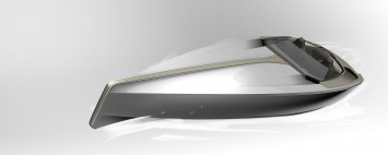 Peugeot Concept Powerboat - Design Sketch